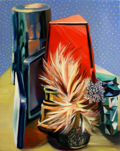 CARGO - Sum of their Parts 'Stanzie' - 20 x 16 Inches - Oil on Wood Panel -2013 Rachel MacFarlane