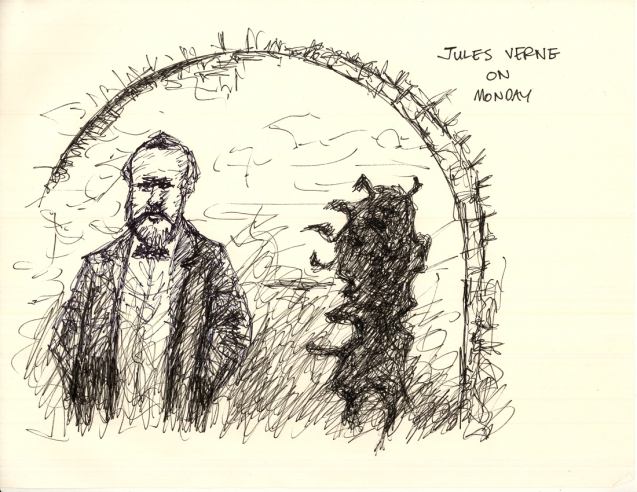"""Jules Verne on Monday"""