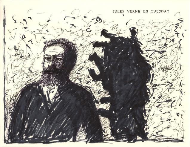 """Jules Verne on Tuesday"""